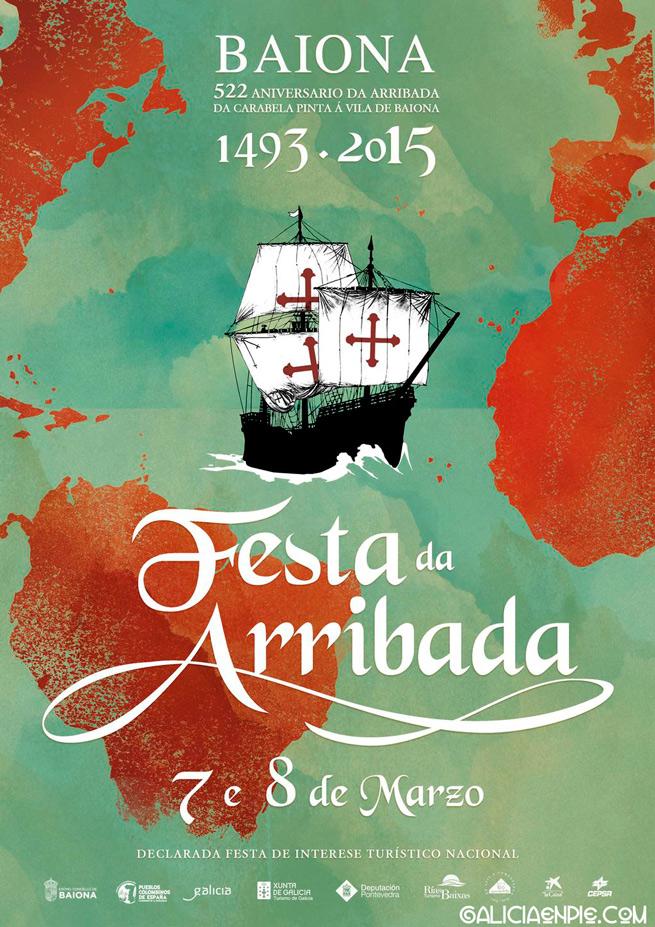 cartel-festa-arribada-2015-baiona