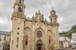 Catedral de Mondoñedo. Lugo. Galicia. España