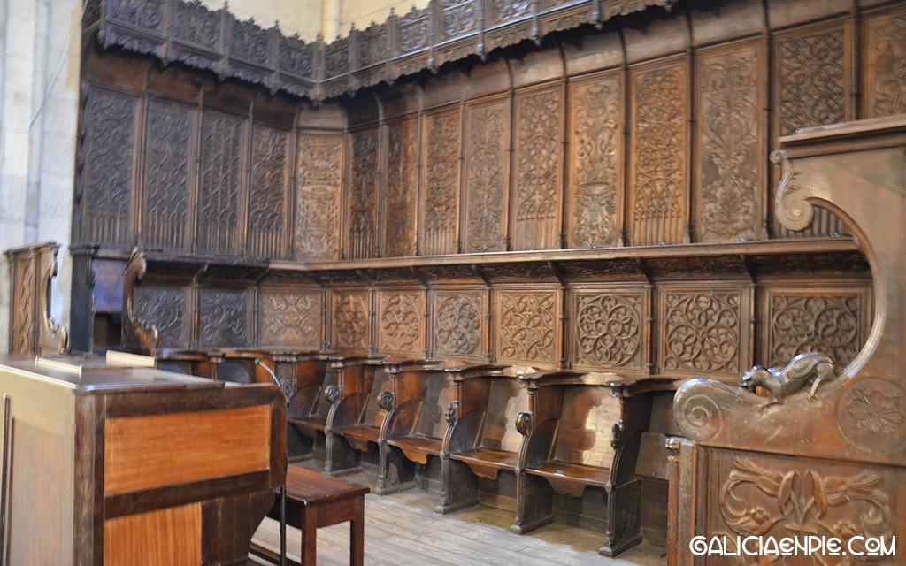 El Coro de la Catedral de Mondoñedo