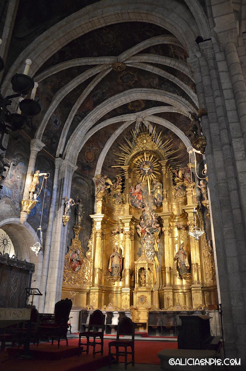 Retablo de la Catedral de Mondoñedo