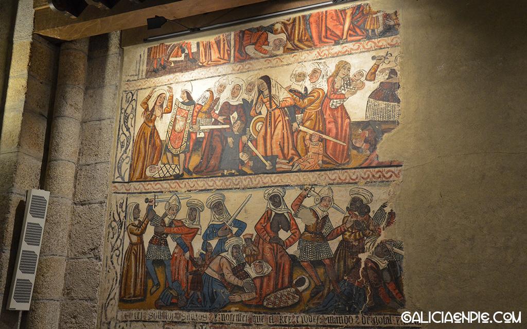 Pinturas Catedral de Mondoñedo