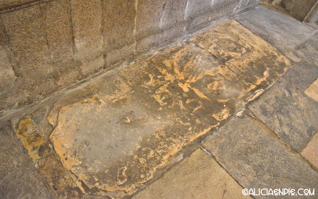 Sepulcro Pardo de Cela, Catedral de Mondoñedo